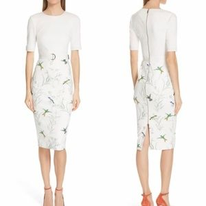 Ted Baker London Kinnya Fortune Belted Body-Con